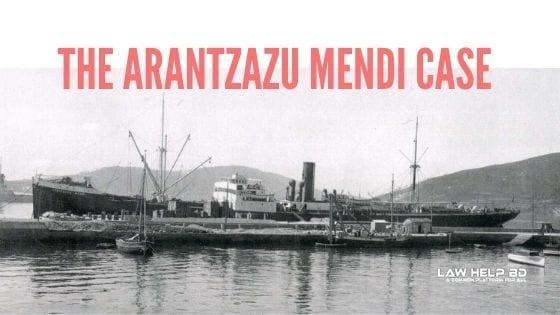 The Arantzazu Mendi Case