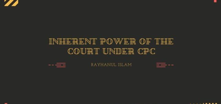 Inherent power of the court